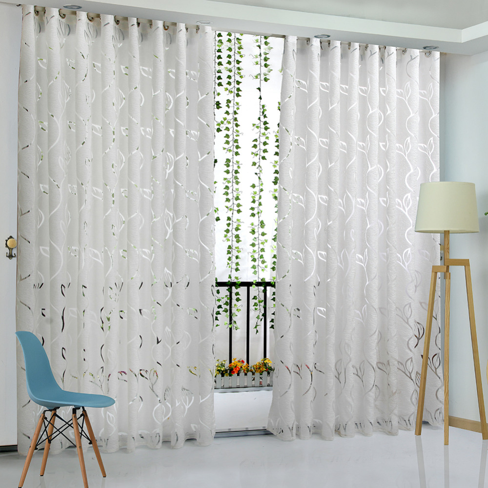 Curtain For Balcony: Aliexpress.com : Buy Floral Vine Leaf Partition Curtain