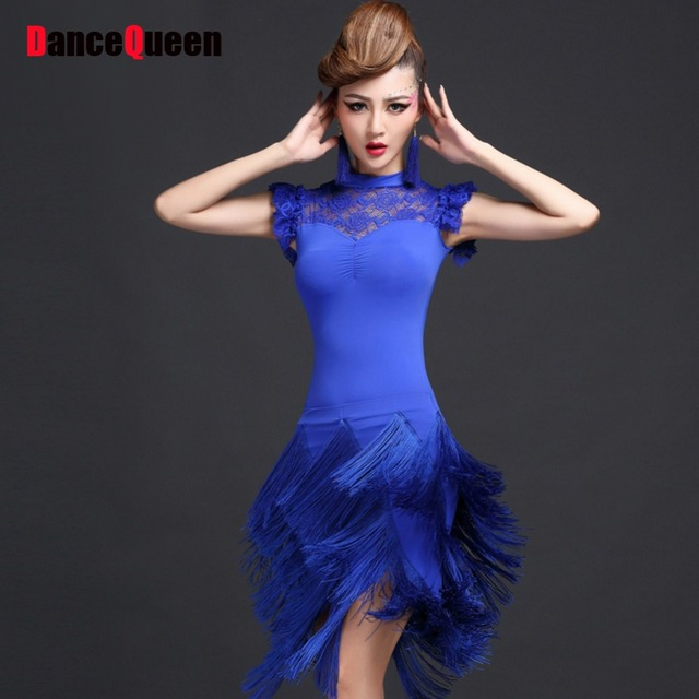 601d16c84d3a Latin Dance Dress Women 2pcs(Tops+Skirt) Ballroom Dancing Samba Costume  Flamenco Vestidos