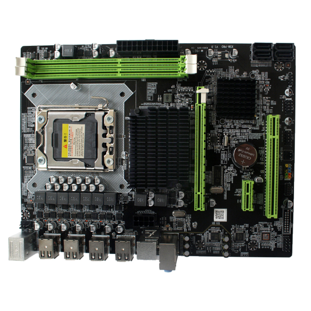 Woopower X58 Pro DDR3 Memory CPU Interface LGA 1366 Motherboard Parts Desktop