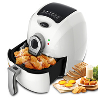 WUXEY Electric Deep Air Fryer Household High Capacity Intelligent Third Generation No Oil Non Smoke Intelligent