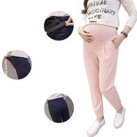 4 Color   Maternity   Harem Pants 2018 Summer Pregnancy Harem Trousers Casual Plus Size   Maternity   Clothing Clothe For Pregnant Women