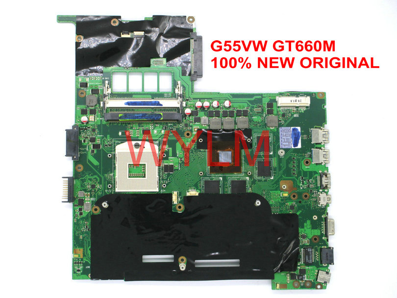 Купить free shipping NEW original G55VW motherboard MAIN BOARD mainboard GT660M video card N13P-GE-A2 100% Tested в Москве и СПБ с доставкой недорого