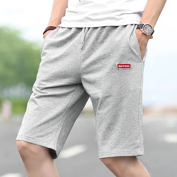 2018 Для мужчин Повседневное Шорты прилив Мода Лето чистый цвет Для мужчин досуг укороченные штаны e31
