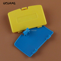 OCGAME 100PCS/LOT For GBC Battery Cover for Gameboy Advance Battery Cover Replacement Door 5 colors to choose