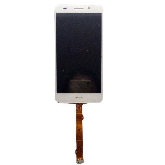 Para huawei 5a y6ii y6 ii cam-l23 cam-l03 cam-l21 cam-al00 cam-tl00 sensor display lcd completa + touch screen digitador assembléia