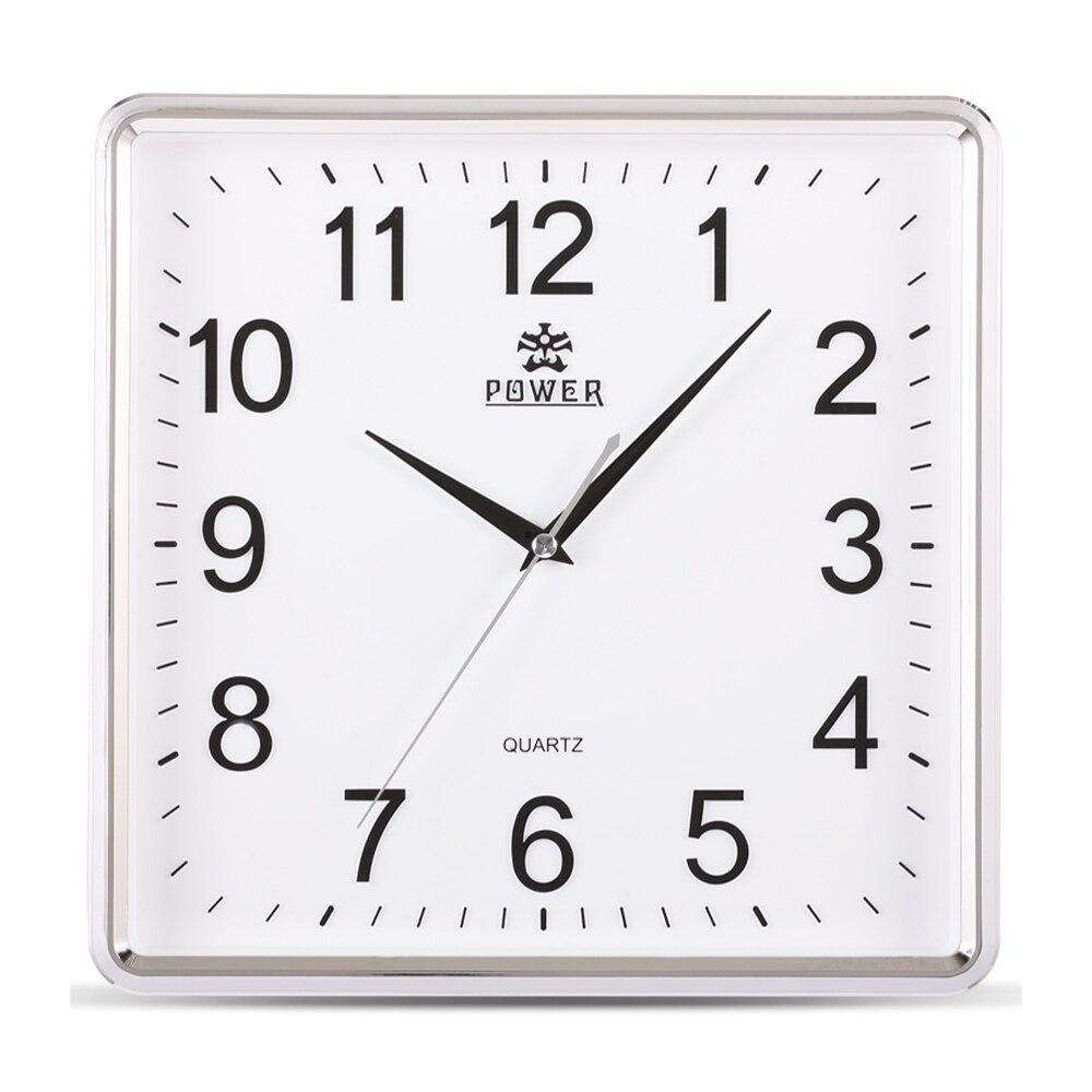 Puissance Marque 12 Pouce Grand Mur Horloge Simple Horloge Murale