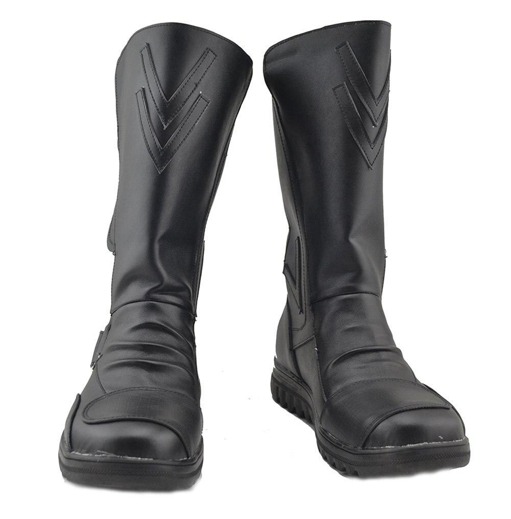 Star Wars Sith Darth Maul Cosplay Shoes Black Boots Custom Made