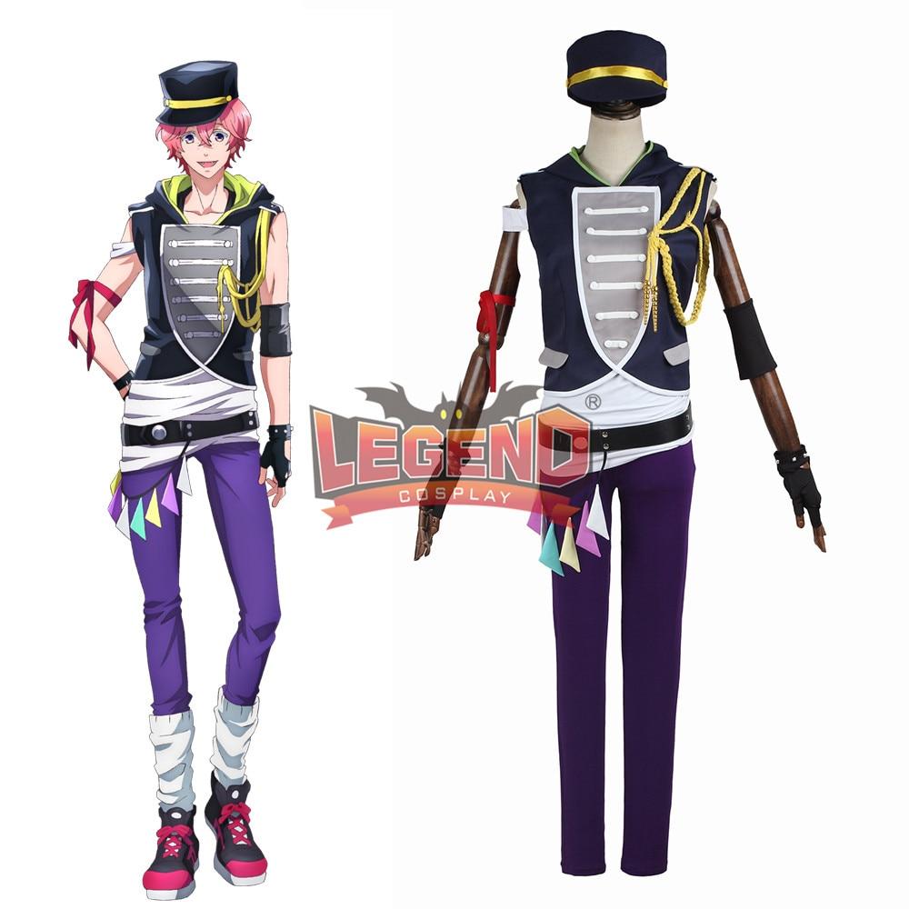 Anime B-project Ambitious Ashu Yuuta Cosplay Costume Coat adult costume halloween costume custom made full set