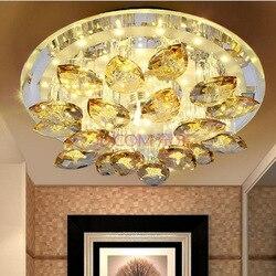 Producenci sprzedają lampa led w kształcie kopuły salon światło werandy atmosfera krystaliczna lampa do korytarza światła balkon w Oświetlenie sufitowe od Lampy i oświetlenie na