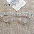 Retro Clásico Medio de Metal hombres mujeres gafas Marco gafas de lentes claros W5188