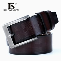 Most Popular Luxury Man Belts Brand Leather 100 Genuine Cowhide Leather Belts For Jeans Male Ceinture