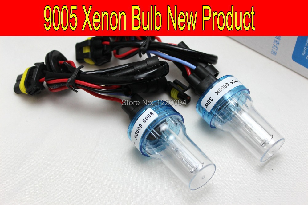 Free Shipping 35w AUTO HID XENON BULB/Car Lamp Headlight Fog Light 2 Pcs 9005 HB3, H1 H3 H7 H11 H8 H9 HB3 HB4 9005 9006 12v usb female to 3 5mm plug car audio mp3 cable silver white 15cm