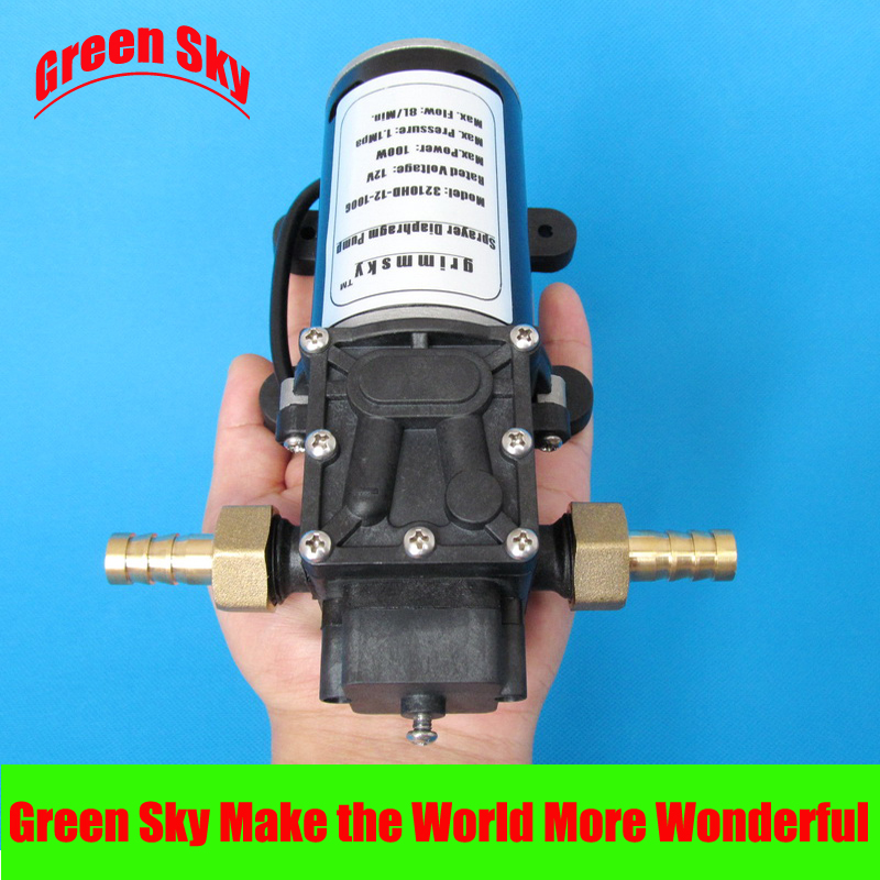 160PSI 48V DC 100W fog/spray/misting,spraying pesticide,farm,greenhouse,garden irrigation use water pump diaphragm
