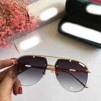WC07101 2018 роскошные взлетно посадочной полосы Солнцезащитные очки женские брендовые дизайнерские солнцезащитные очки для женщин Картер очки