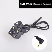 Auto Rear View Backup Camera 2.5mm AV-IN for Car DVR Camcorder Recorder Dash Cam Dual Recording Aux StereoGPS Tablet Video Input