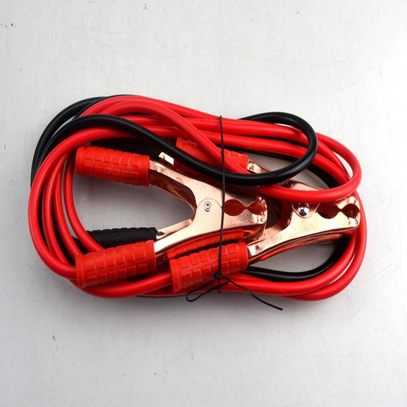 imágenes para 2.5 Metro 100AMP Cable Jumper Batería Booster Cables de Carga de Energía de Emergencia Del Coche Jump Start dash cam
