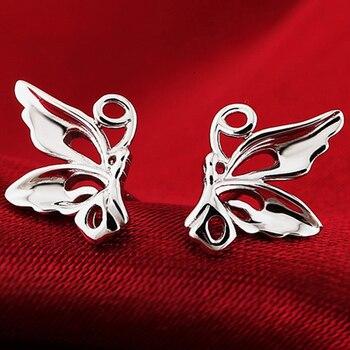 Cute Butterfly Animal Shape Fine Jewelry For Wedding