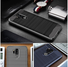 hot deal buy for lg g7 thinq case lg g7 plus thinq cover on for lg g7+ thinq premium original silicone soft business hybrid protective shell