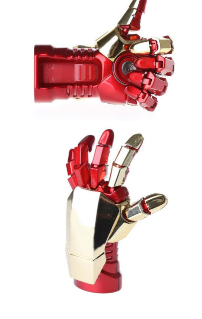 Iron man hand flash memory