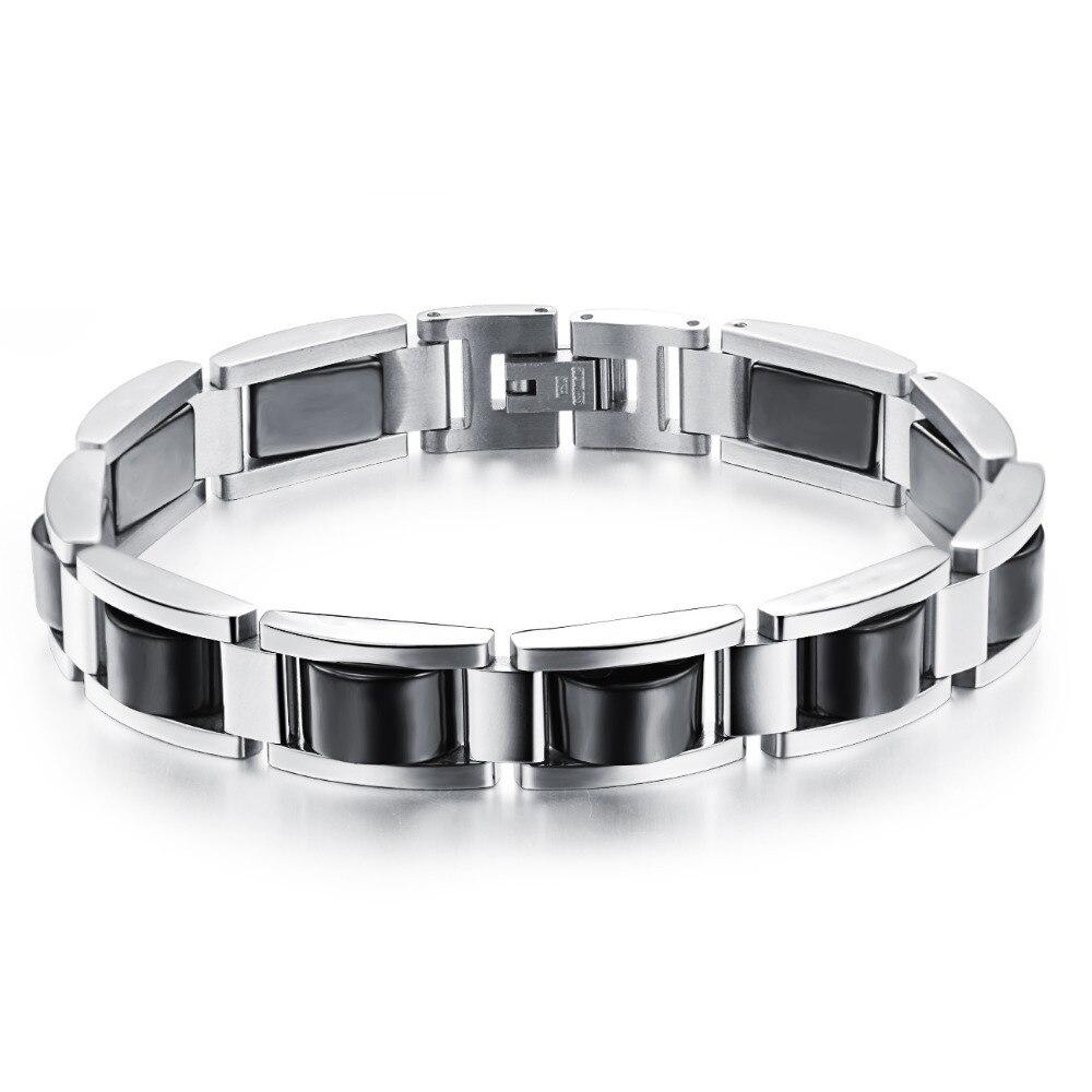 Men S Stainless Steel Bracelet Health Care Jewelry Fashion
