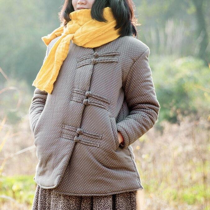 100% brand counters, 2015 original design manual button collar cotton linen ladys coat