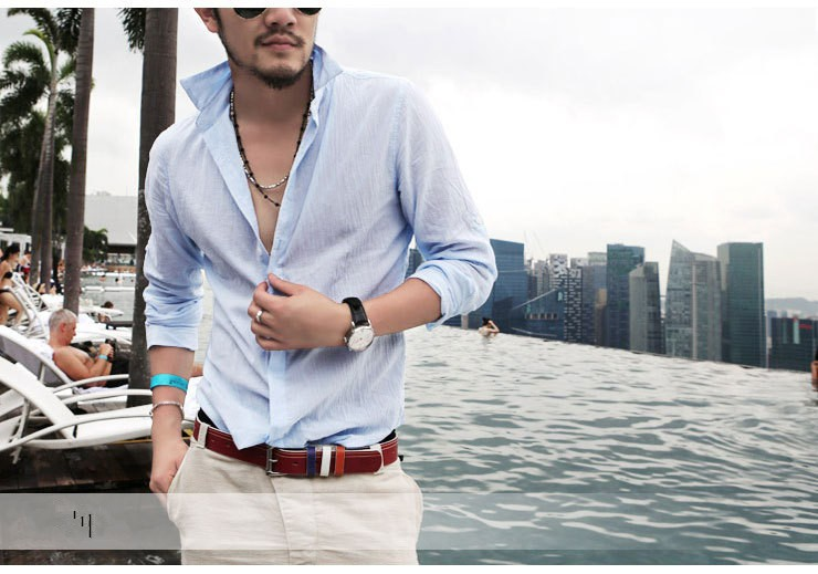 HTB1v7IjIFXXXXapXVXXq6xXFXXXl - Shirts Swag Cotton Linen Men Shirt Long Sleeve Summer Style