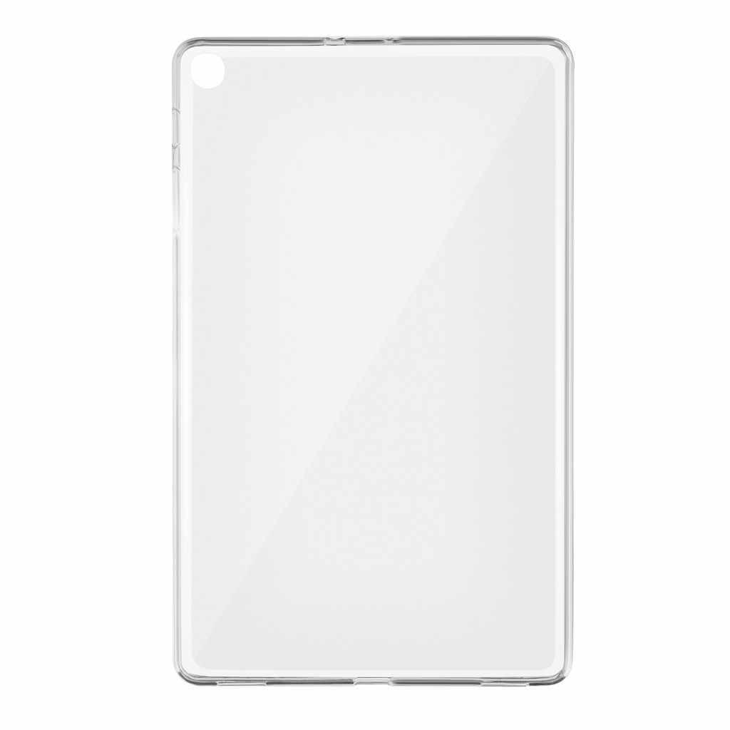Teblet Smart Case Cover untuk Samsung Galaxy Tab S5e 10.5 T720 T725/Tab A 10.1 2019 SM-T510/515 TPU Gel Silikon Penutup Case Matte