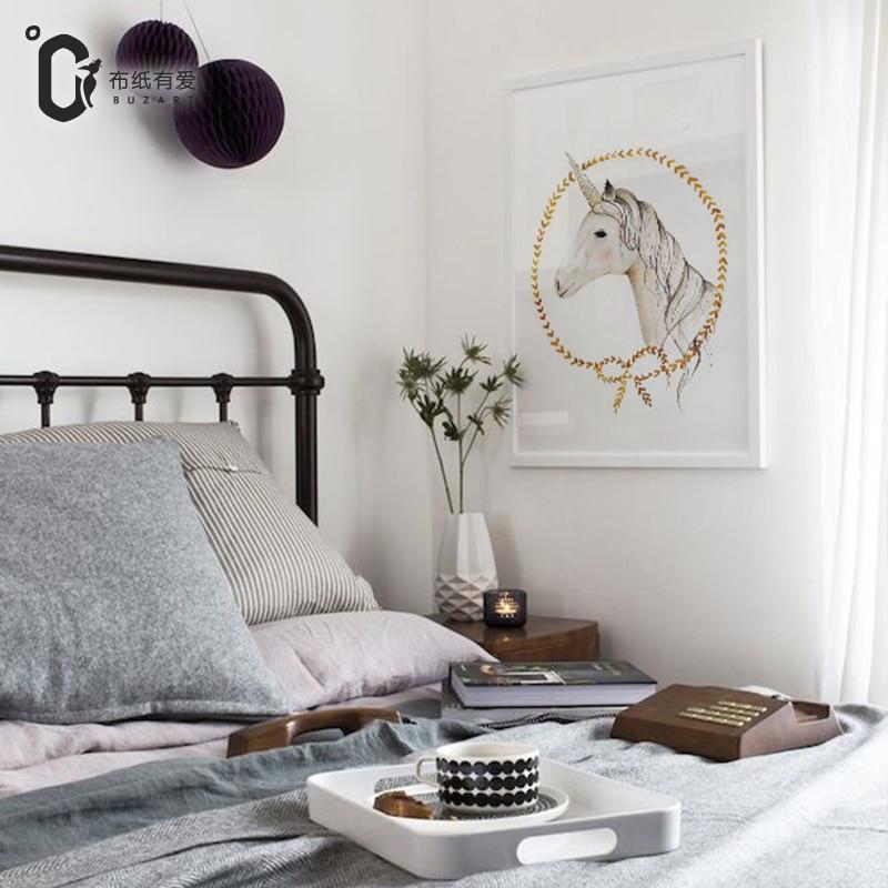 Єдиноріг прикраса спальні Тварина - Домашній декор