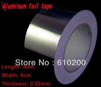 Miễn phí Vận Chuyển, phụ kiện BGA Nhôm lá mỏng băng cho BGA reballing sử dụng (60 mét x 40 m x 0.05 mét) Bạc băng dính Băng