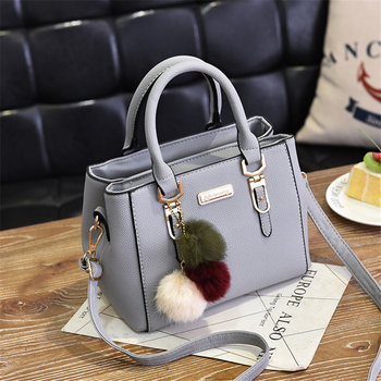 AiiaBestProducts Women Solid Color Handbag 2