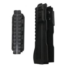 Inserts pour garde mains série AK, Rails inférieurs supérieurs, accessoires de Paintball pour chasse Airsoft, AK 47 104 Strikeforce en polymère