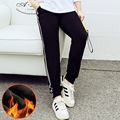 The new Christmas recommended large size women winter cotton fashion waist warm  pants pants 303