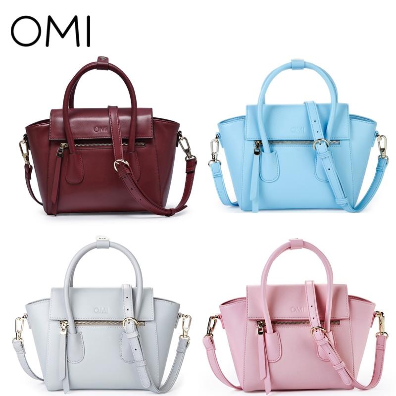 4460f4fdcf9d OMI Women s handbags Women s bag Female s handbag ladies  bags Ladies   genuine leather handbag Female designer pouch Casual Tote-in Top-Handle Bags  from ...