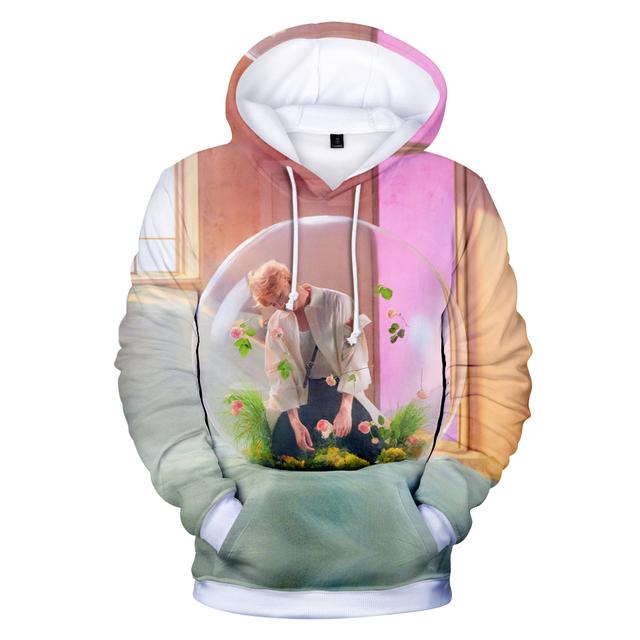 BTS Hoodies Kawaii 3D LOVE YOURSELF ANSWER Sweatshirt Long Sleeve Women Clothes 2018 Tops Kpop Hip Hop Plus Size Q1234-Q1241