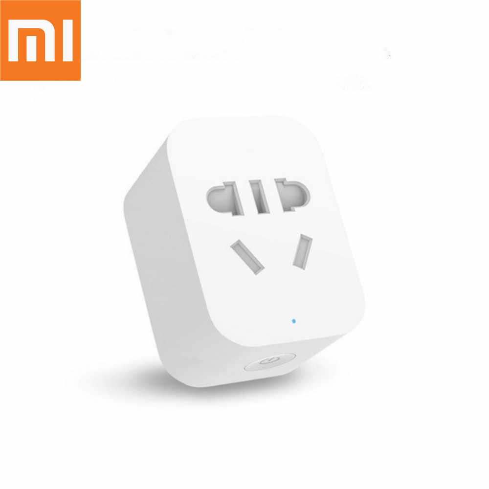Originele Xiaomi Mi Smart Socket Zigbee Versie App Afstandsbediening Timer Power Plug Power Detection Max 2200W 10A 90-250V
