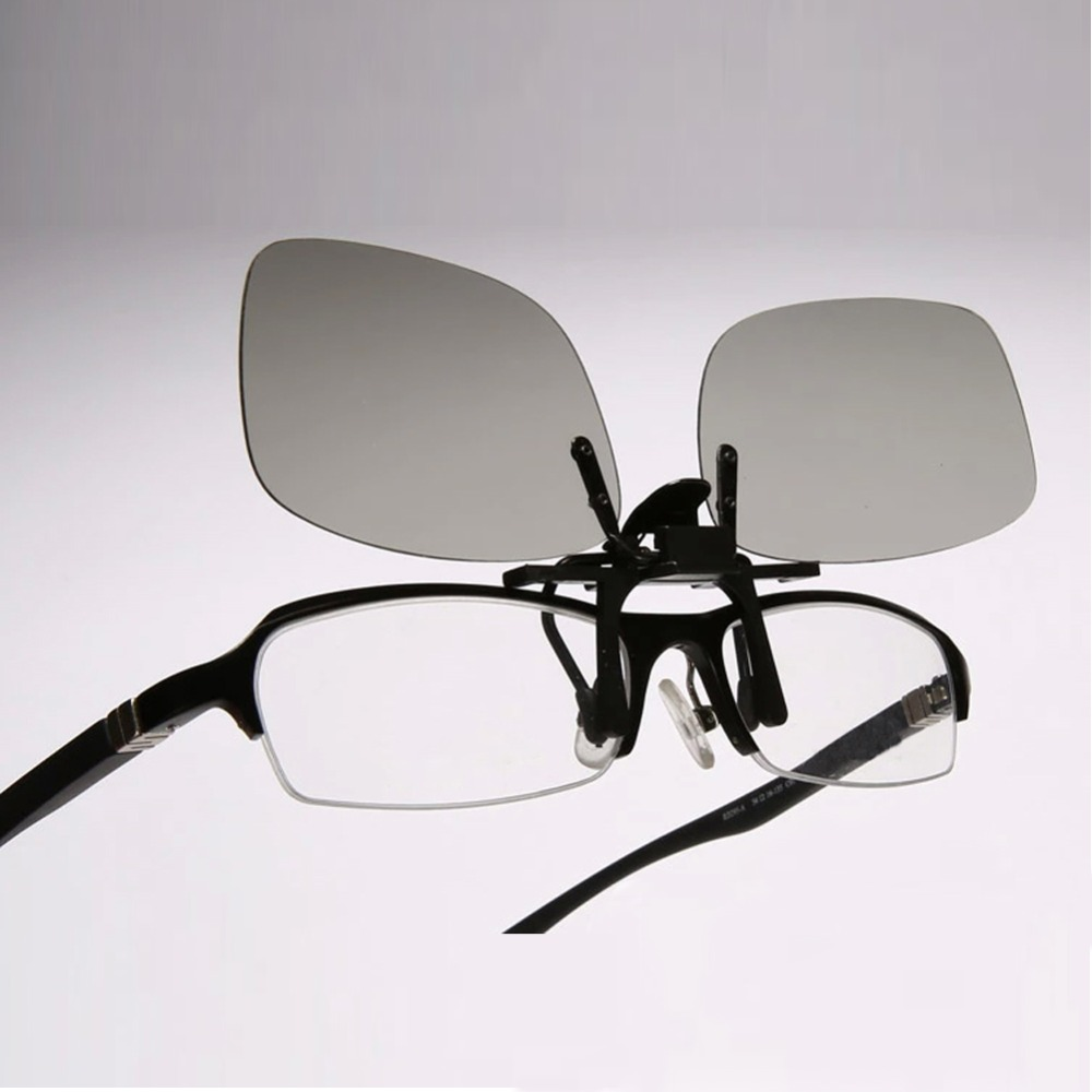 top Quality Clip-on 0.72mm Thickness 3D Glasses for Myopia Watching for LG Cinem