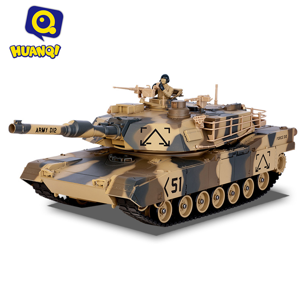 KidoMe Optional Battle Tank HUANQI 781 - 10 Simulation Infrared RC Battle Tank Boy Children Toys Gifts For Friends Panzer Toys 2 4g huanqi 516c rc infrared battle tank automatic shows tank remote control toys tank for children gift 1pcs lot
