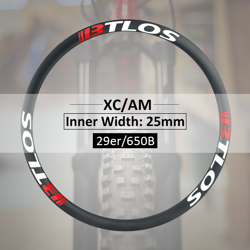 32mm width mountain bike trail bike carbon rims carbon wheels available for 29 inches - M-i25 bike wheel image