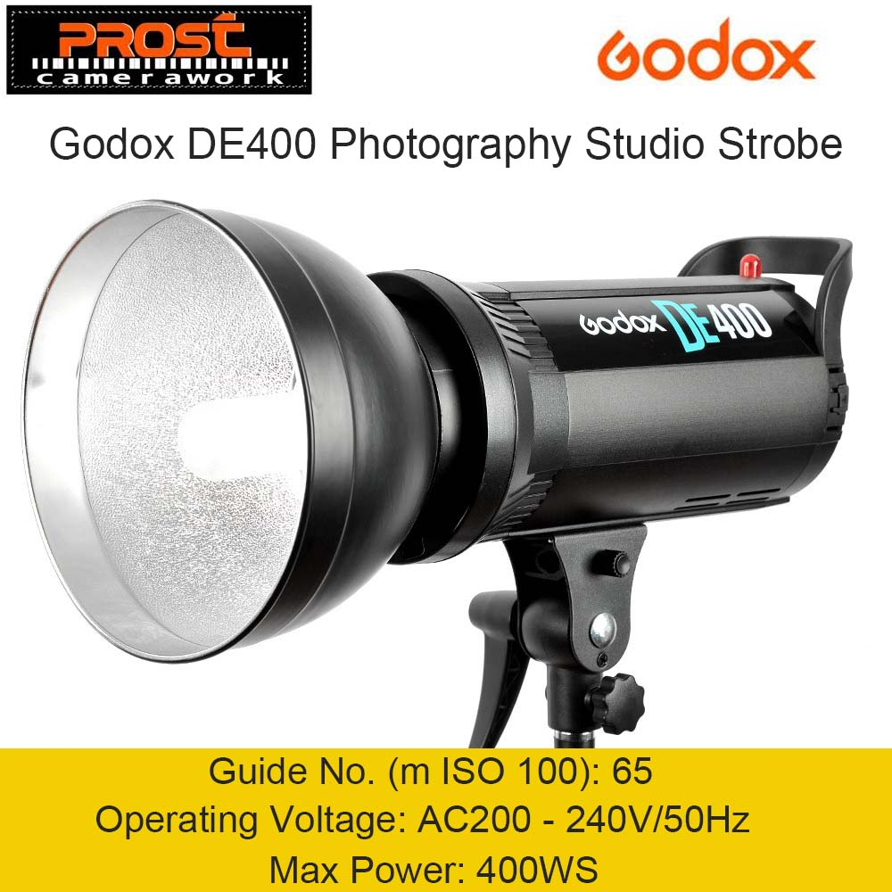 Godox DE400 400 W 400WS Pro Photographie Studio Strobe Flash Light Lamp Head 220 V