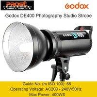Godox DE400 400 Вт 400WS Pro Фотография Студия Строб вспышка света лампы Глава 220 В