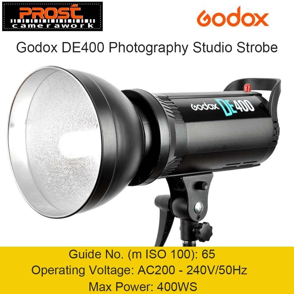 Godox DE400 400 w 400WS Pro Studio de Photographie Flash Stroboscopique Lampe Tête 220 v