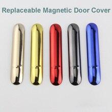 도매 10 개/몫 Vape 사이드 커버 IQOS 3 IQOS 전자 담배 액세서리 교체 마그네틱 캡 외부 케이스