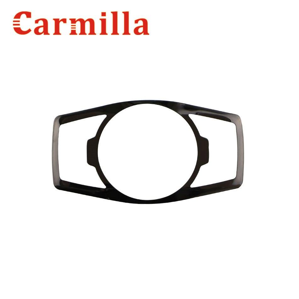 Carmilla Нержавеющаясталь фар переключатель Блёстки крышка отделка Наклейки для Ford Новый фокус 3 4 MK3 MK4 Kuga ESCAPE Mustang Эверест
