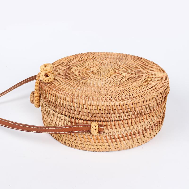 Handmade Summer Rattan Bag 11
