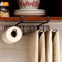 ORZ cuisine étagère de rangement salle de bain serviette en papier placard distributeur Facial armoire crochet suspendu étagère brun support organisateur