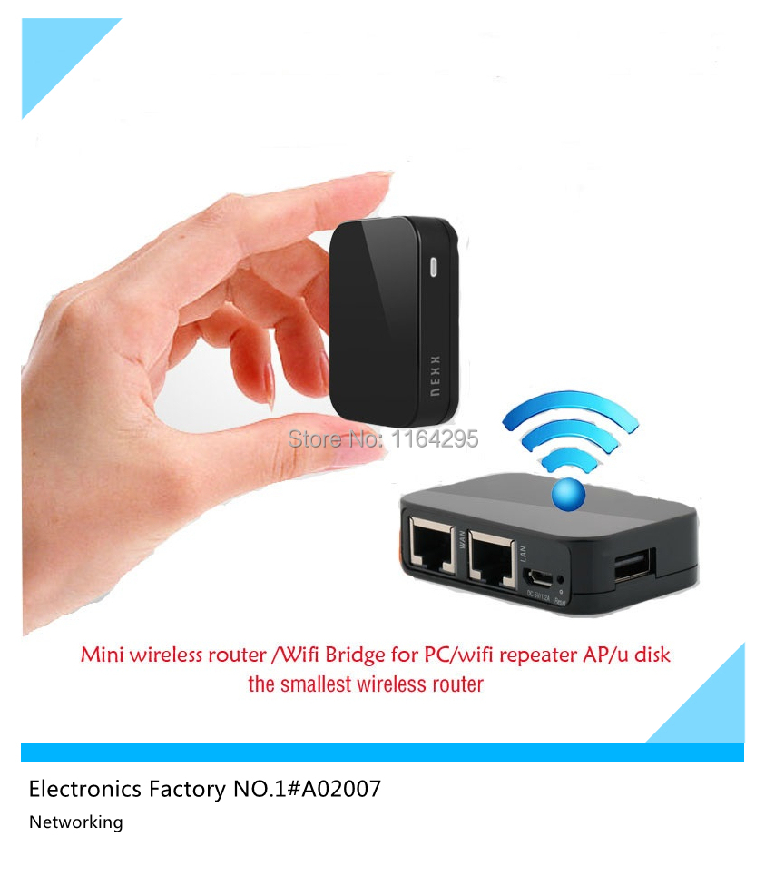 Brand Original NEXX Mini wifi router Portable wall wifi repeater AP Mobile storage u disk Wifi