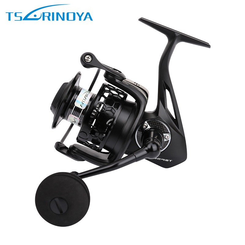 Tsurinoya Spinning Fishing Reel ull Metal 12 Ball Bearing Drag Fishing Gear Mulinelli TSP4000 Free shipping