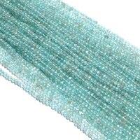 Apatit Parlayan bir Strand Doğal Mikro Rondelle Faceted Gevşek Kristal Boncuk 2 MM 39 cm 15 '' Strand Takı Için yapma