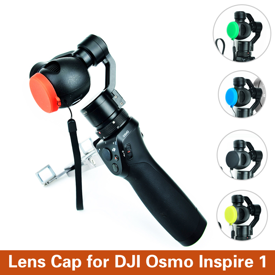 Dust-proof Camera Protective Guard Cap Lens Protector Cover For DJI Inspire 1 OSMO Lens Cap Cover Dustproof Cap DJI Accessories