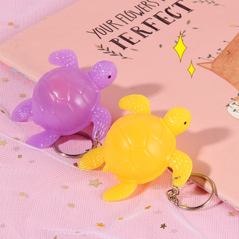 Pinch The Egg Turtle Keychain Novelty Children's Toys To Spread The Supply Wholesale Activities Holiday Fun Toy Gifts